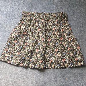 Jack Wills floral skirt